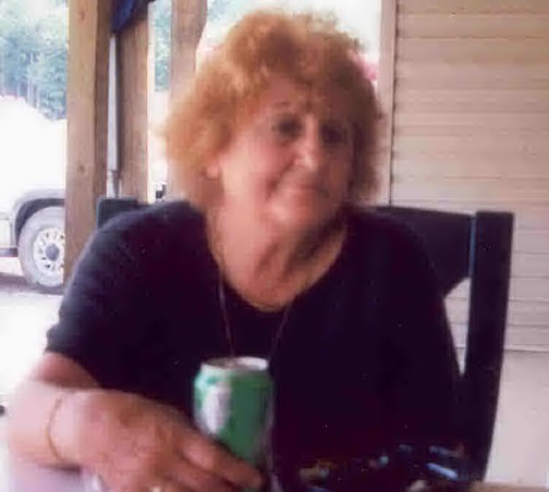 this is my Grandmother.  It's kinda blurry, but it is rare....she hates pictures.